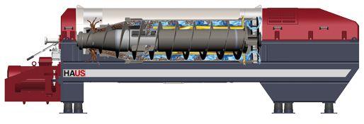 centrifuge decanter-3 phase